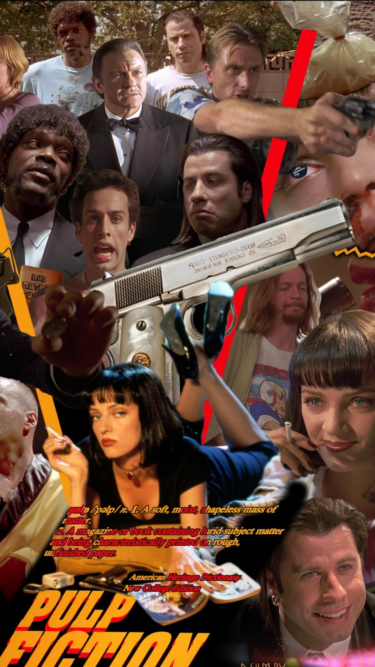 Movie Characters Pulp Fiction Reservoir Dogs The Big Lebowski