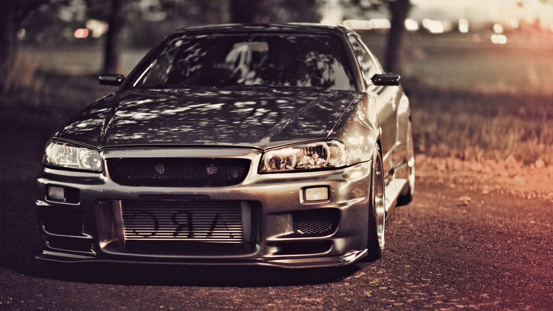 Nissan Skyline GTR R Wallpapers  Wallpaper  1920x1080