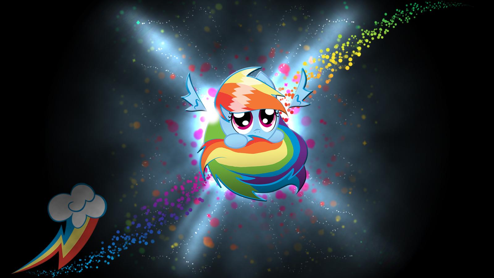 Rainbow Dash Wallpapers HD PixelsTalk Rainbow Dash Sphere Background by Kuroiraishu on DeviantArt 1600x900