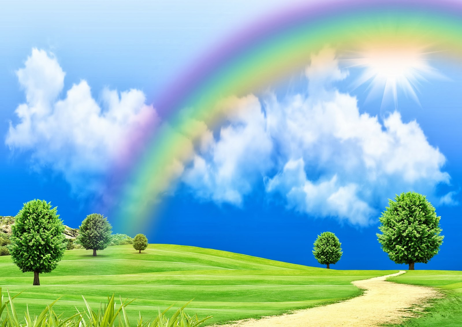 photo collection cute rainbow wallpapers free