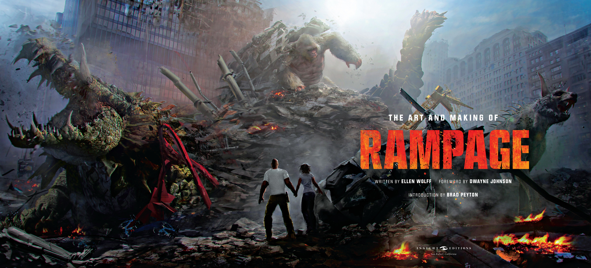 Rampage Movie Hd Wallpapers Download 1080p: Hd Wallpaper Rampage Movie Poster HD Wallpaper K Wallpaper