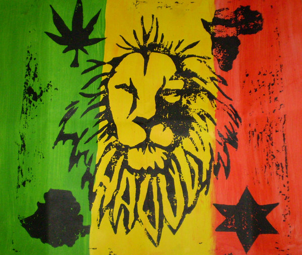 Rasta Flag Wallpapers Group  600x506