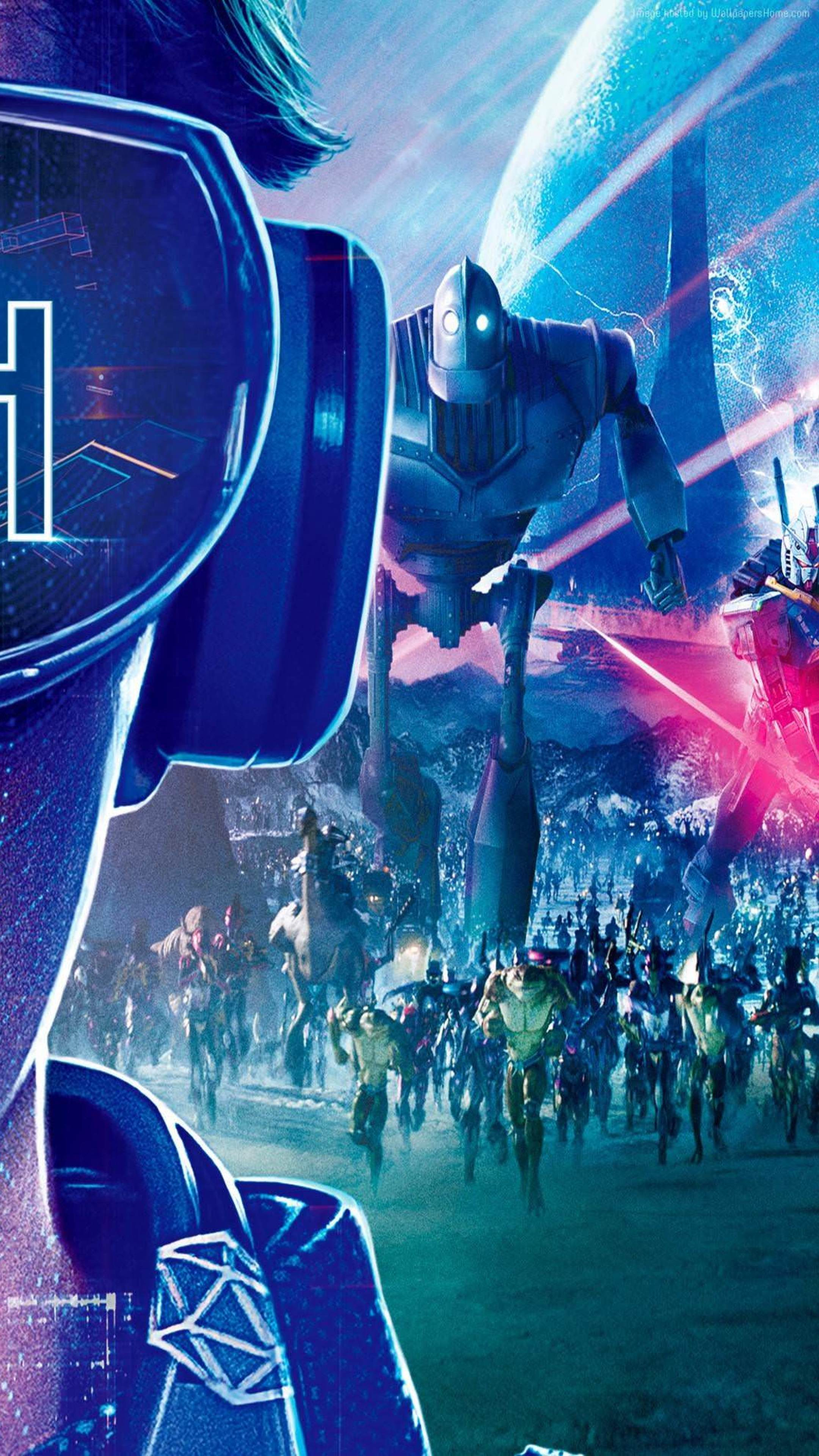 Download Ready Player One Movie Poster x Resolution HD K