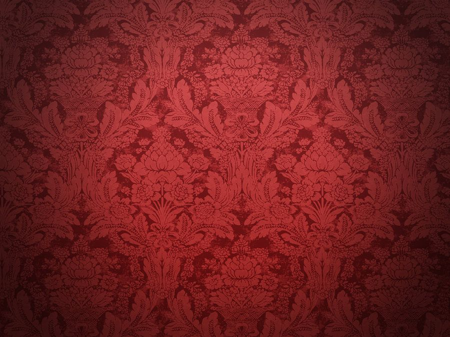 Red Damask Wallpaper Home Decor Best