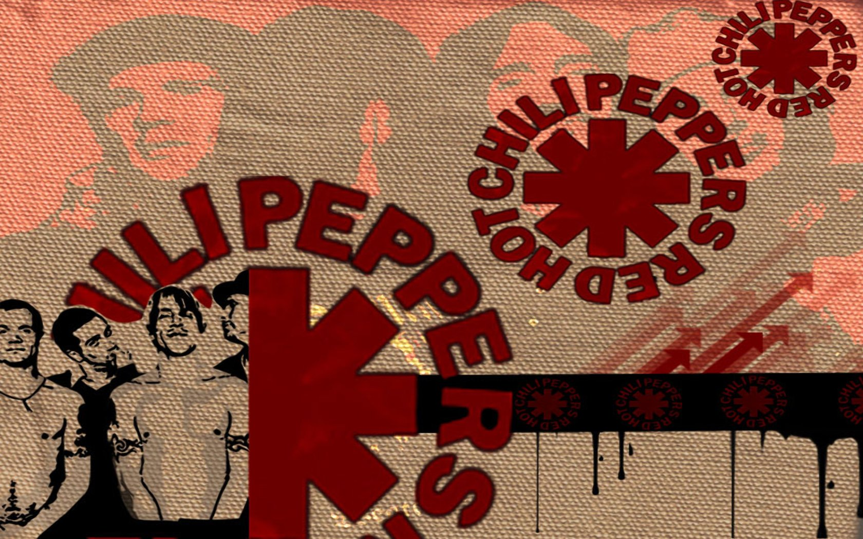 Red Hot Chili Peppers Hd Wallpapers Backgrounds Wallpaper 1680x1050