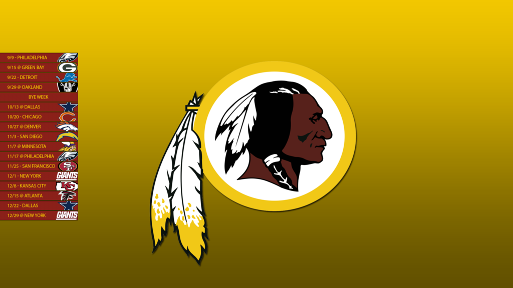 Washington Redskins Iphone Wallpaper 1024x576