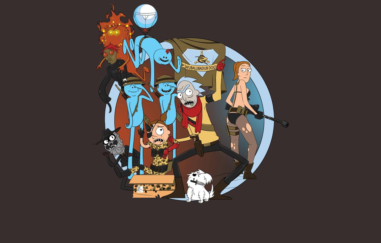 Rick And Morty Wallpaper Iphone Rick And Morty Rick Morty