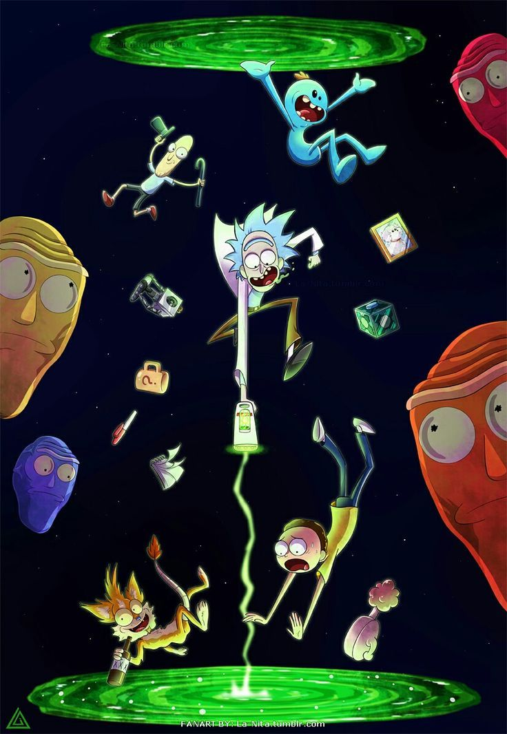 Rick And Morty Wallpaper Iphone  Wallpapers HD Visual