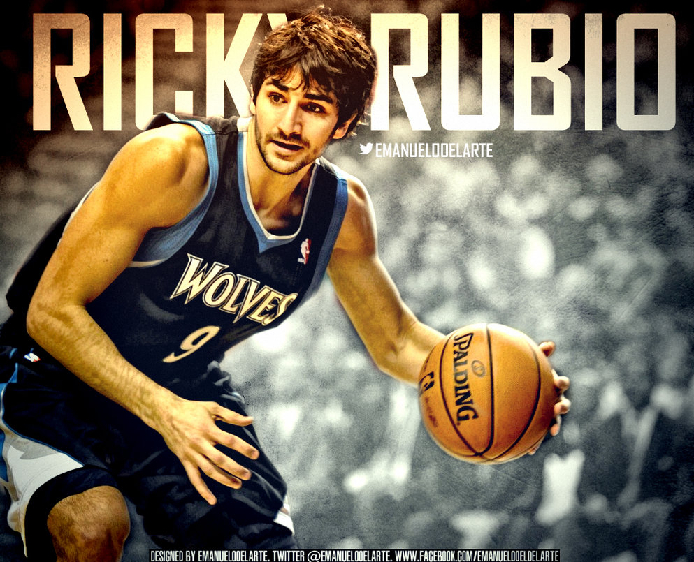 Ricky Rubio Timberwolves Wallpaper by IshaanMishra on DeviantArt 993x805
