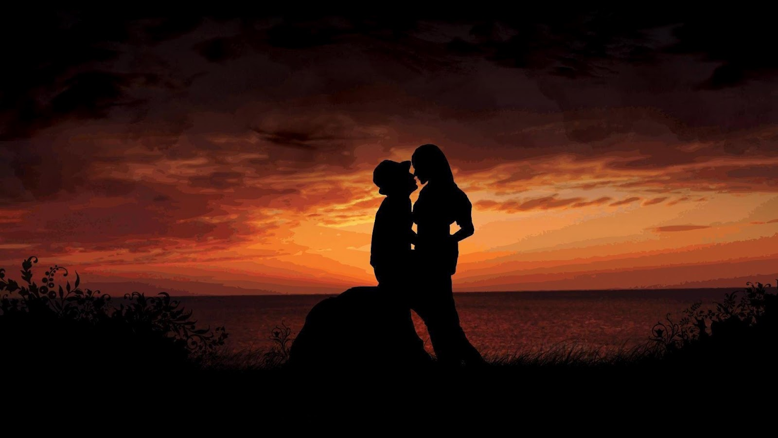 Love Couple Wallpapers  Romantic Boy Girls p HD Wallpapers 1600x900