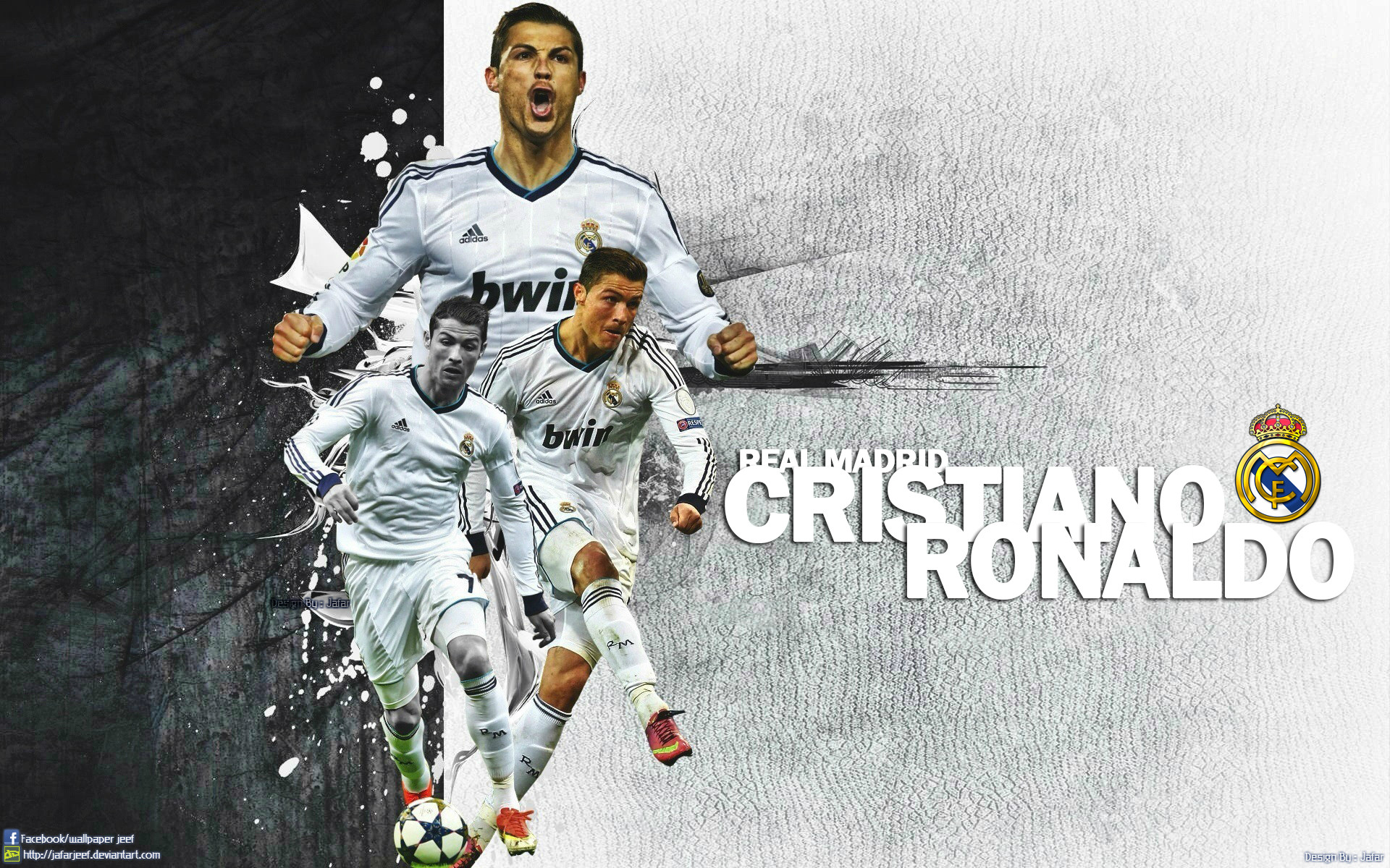 Cristiano Ronaldo Wallpapers  in HD  Soccer  Football 1920x1200
