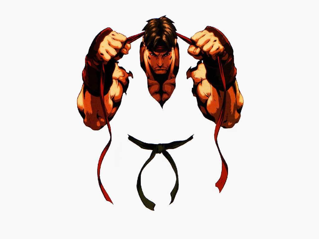 Street Fighter Evil Ryu Wallpaper 1024x768