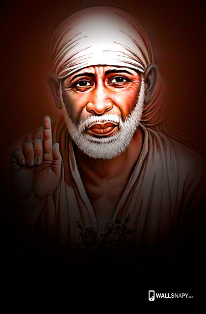 Beautiful Shirdi Sai Baba Wallpaper For Mobile Phone Primium
