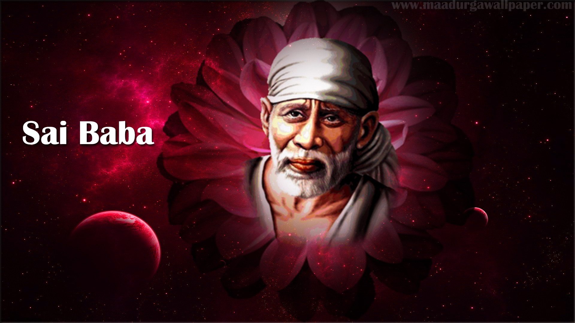 Hindu God Shirdi Saibaba Hd Wallpaper Sai Baba Hd Wallpaper For