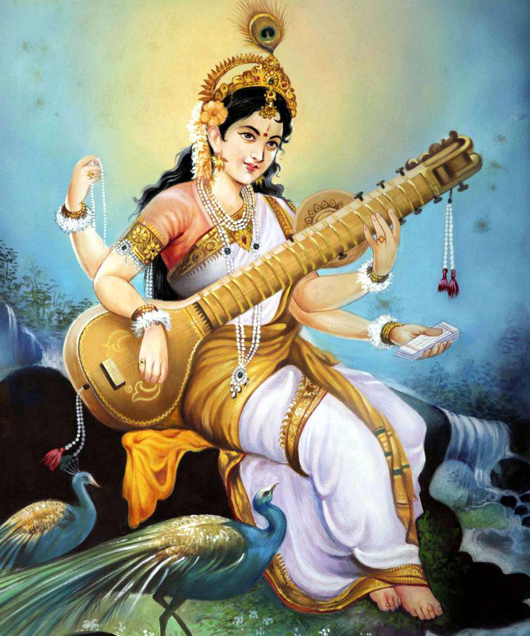 Maa Saraswati HD Wallpapers Goddess Images and Wallpapers