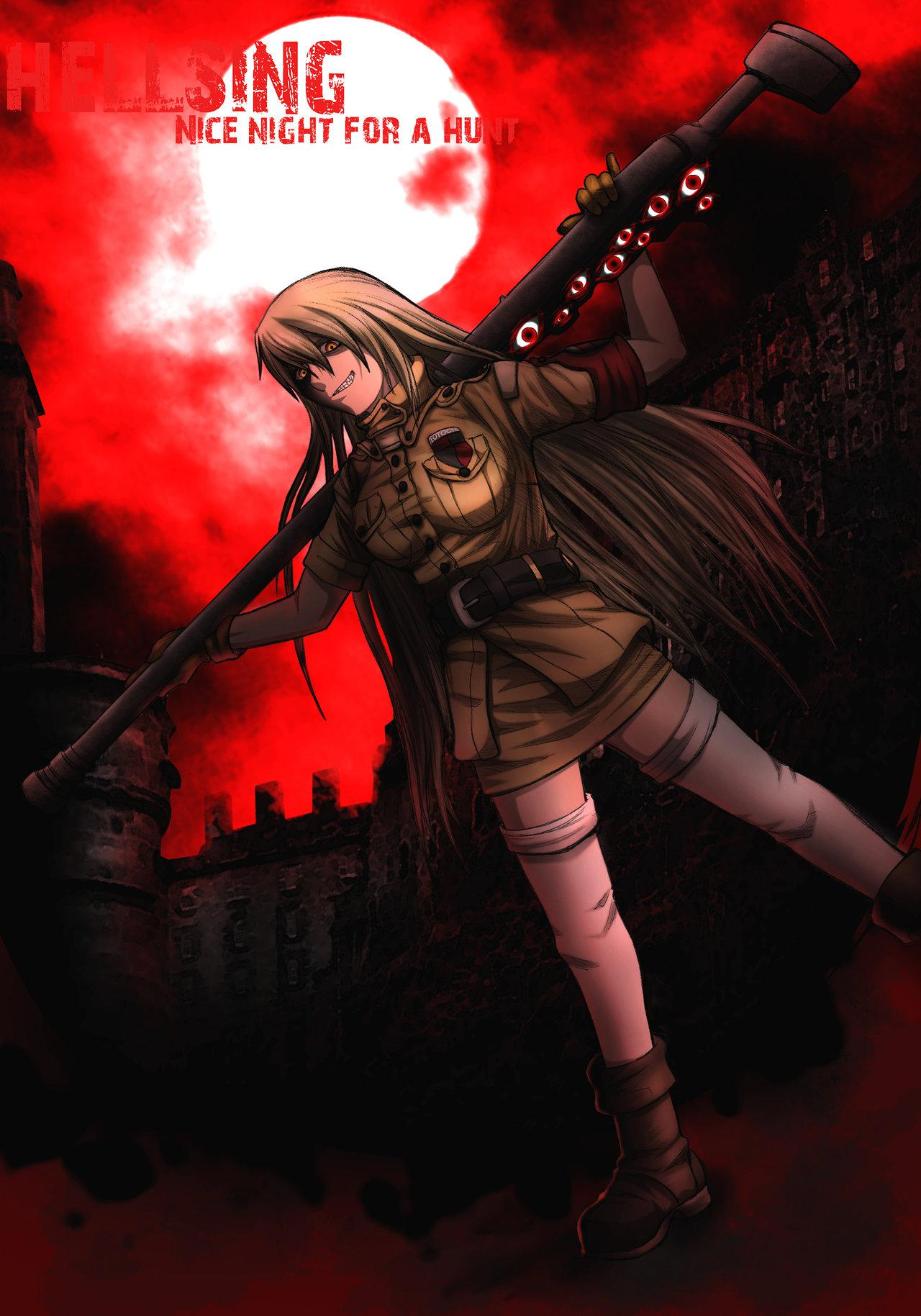 Seras Victoria Hellsing Ultimate Cannon Album on