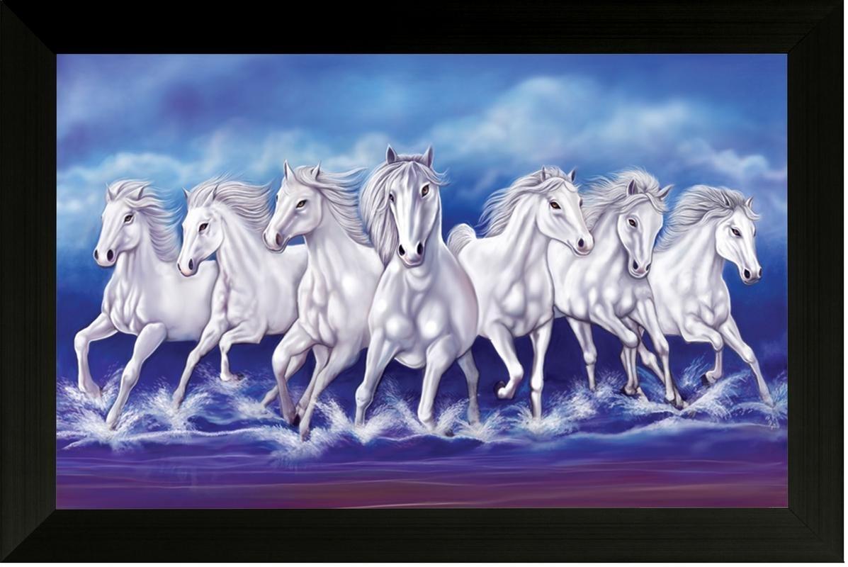 Seven Horses Wallpaper Vel