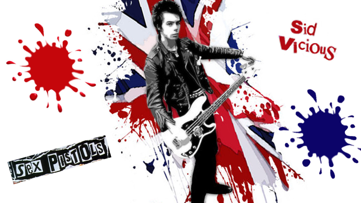 HD Sex Pistols Wallpapers  Sex Pistols Best Pictures Collection 1366x768