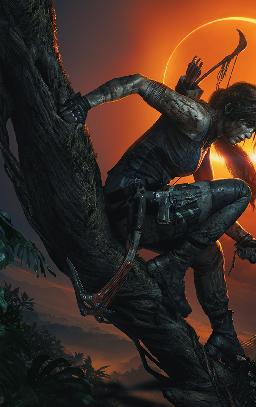 Shadow Of The Tomb Raider Fan Made Box Art by LitoPerezito on