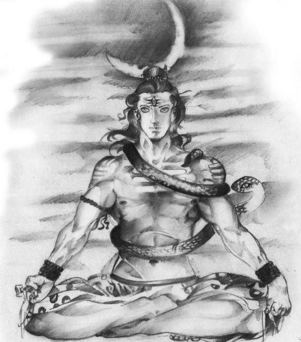 Lord Shiva Smoking Ganja Hd O