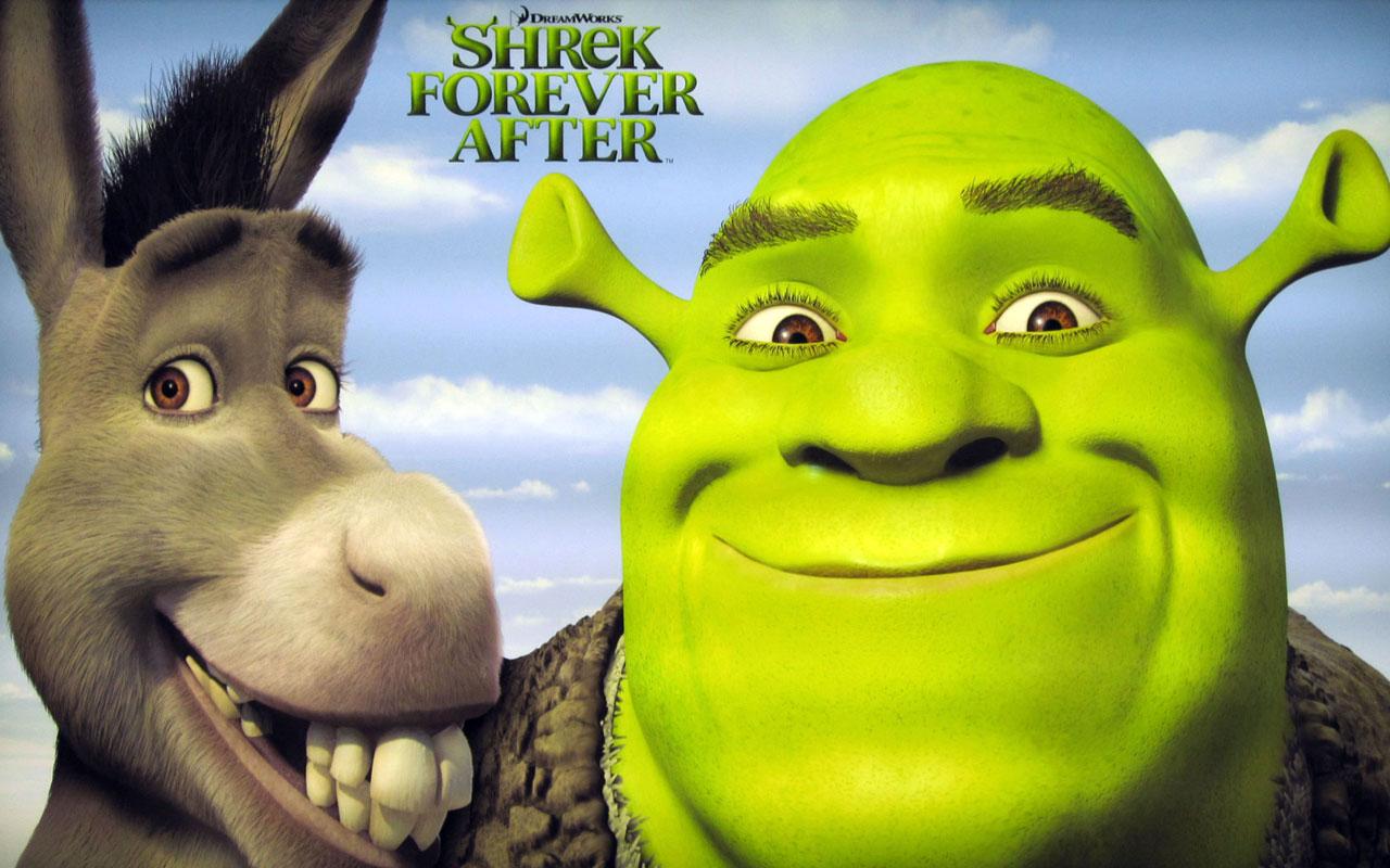 Shrek And Donkey The Final Chapter HD Desktop Wallpaper 1280x800
