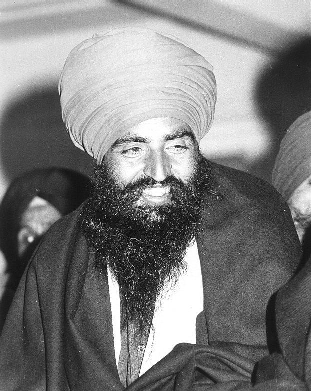 Sant Jarnail Singh Jee Bhindranwale Turban And Beard Sufi Learn Rh Ca
