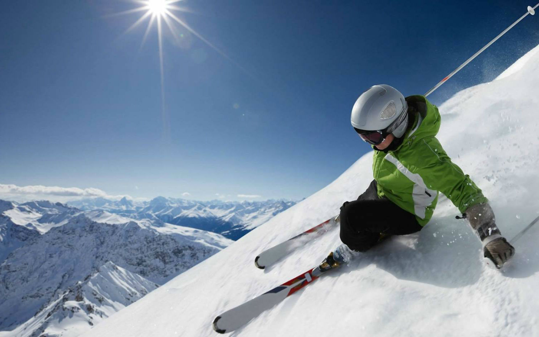 Ski Wallpaper 1500x937