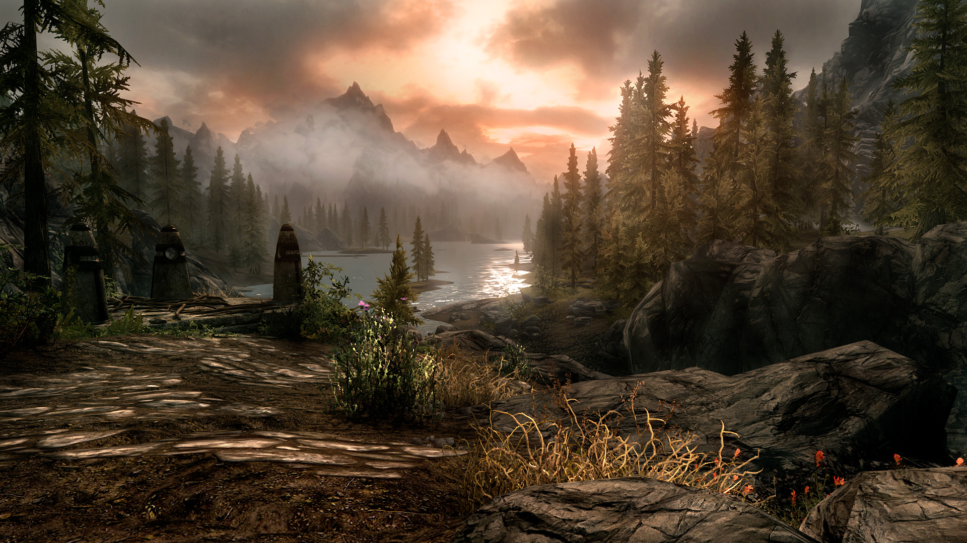 skyrim dragonborn wallpapers wallpaper 1920x1080