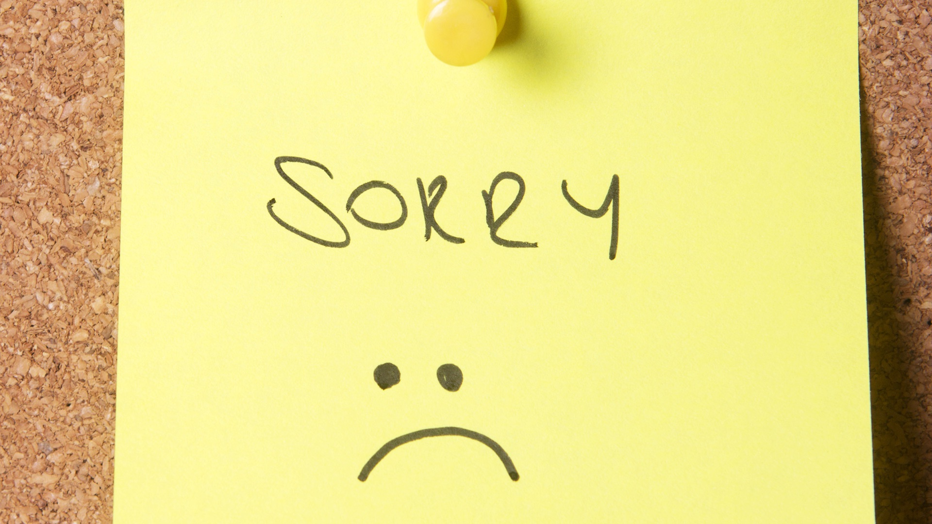 Sorry Wallpaper Images For Free Download 1920x1080