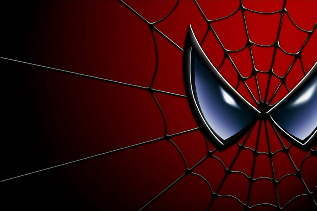 Black spiderman logo wallpaper
