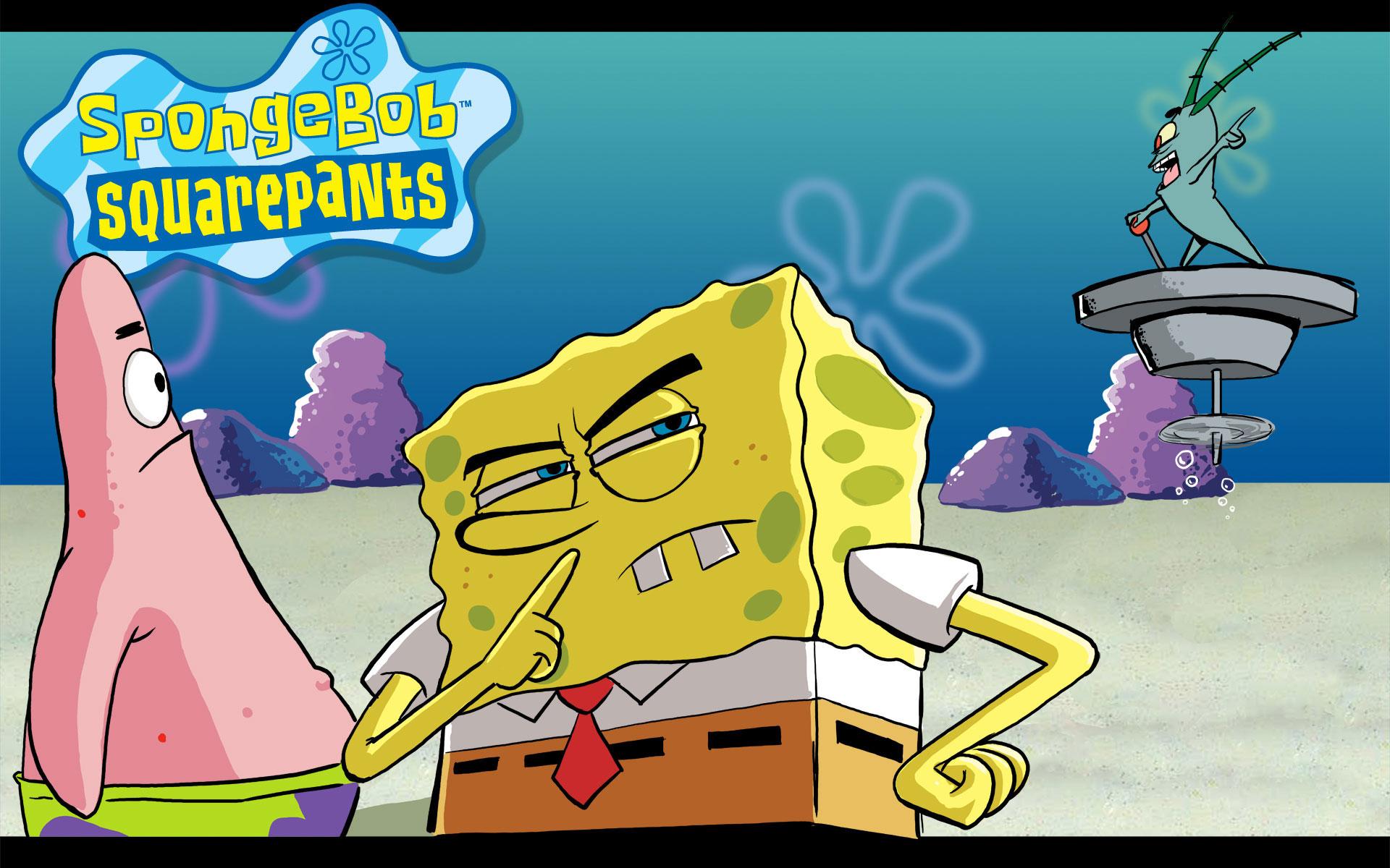 Spongebob Squarepants Cartoons Wallpapers 1920x1200