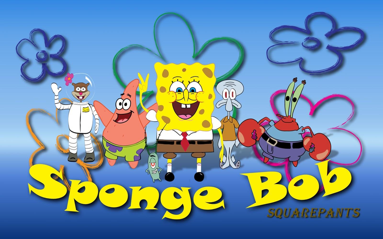 Yellow Spongebob Background Wallpaper Spongebob Wallpapers Hd