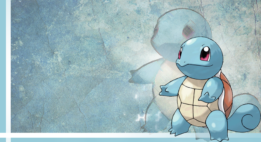 Squirtle Pokemon Face Whatsapp Wallpaper 900x491