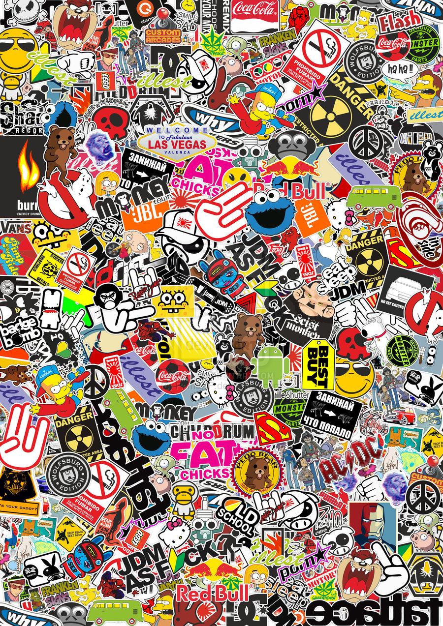 Sticker Bomb Full HD Wallpaper and Background | 1920x1080 | ID:683117 ...
