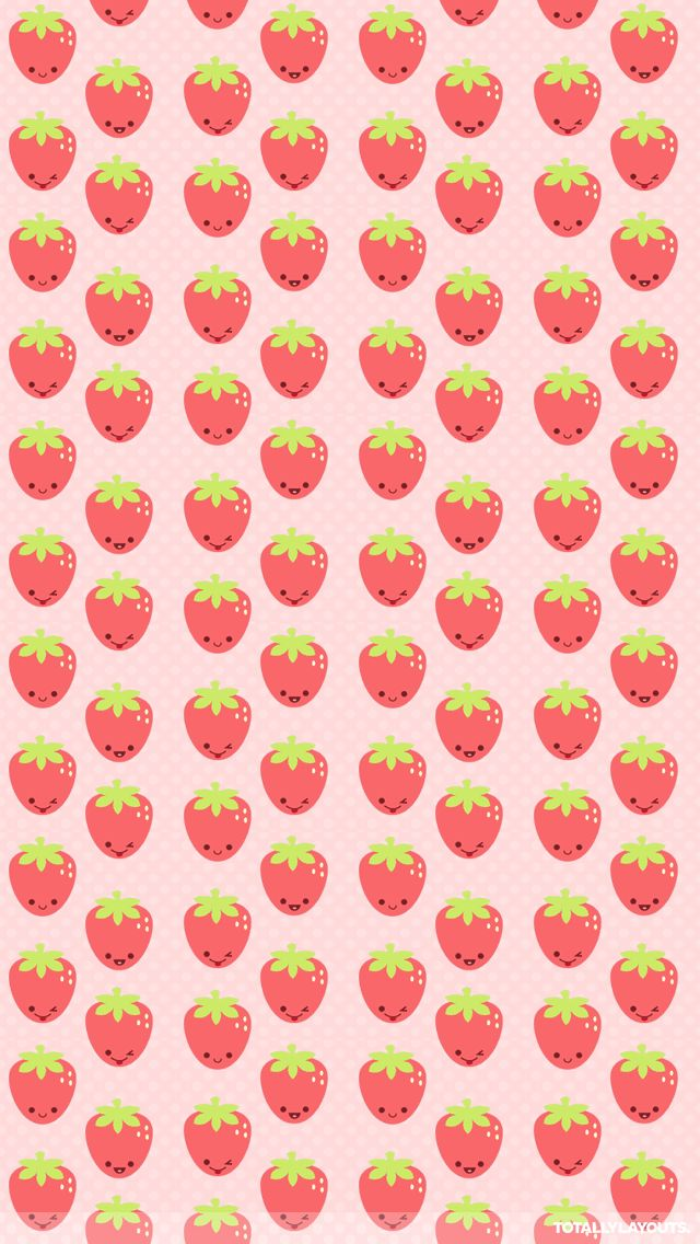 Strawberry Wallpapers Group  640x1136