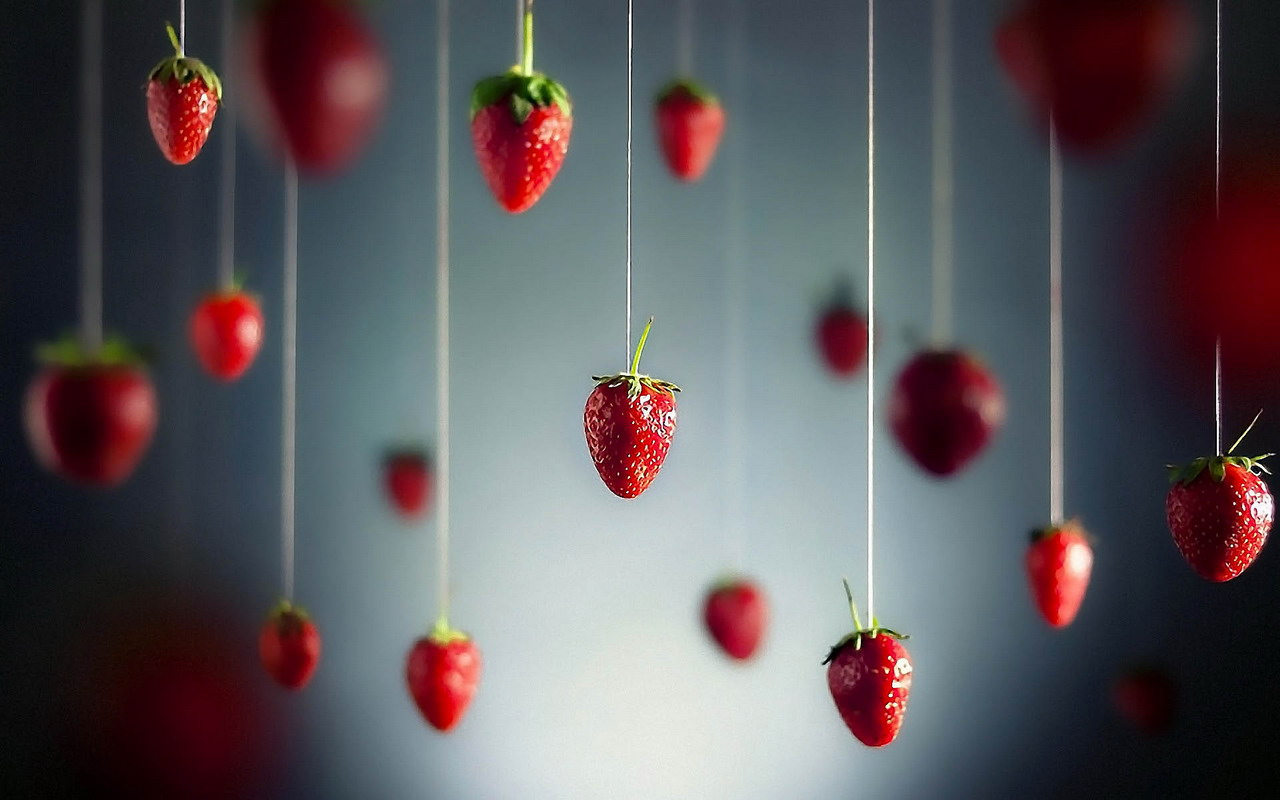 Strawberry Wallpapers  Food and Drink Backgrounds 1280x800