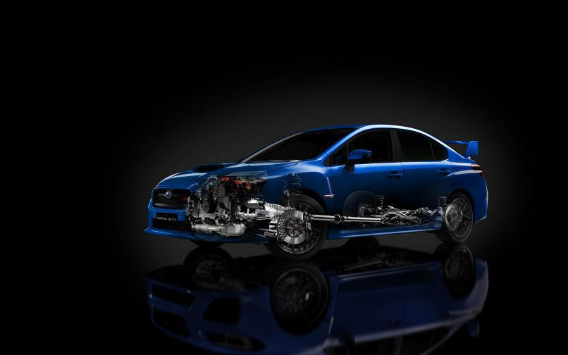 Subaru WRX Wallpaper HD   806x504