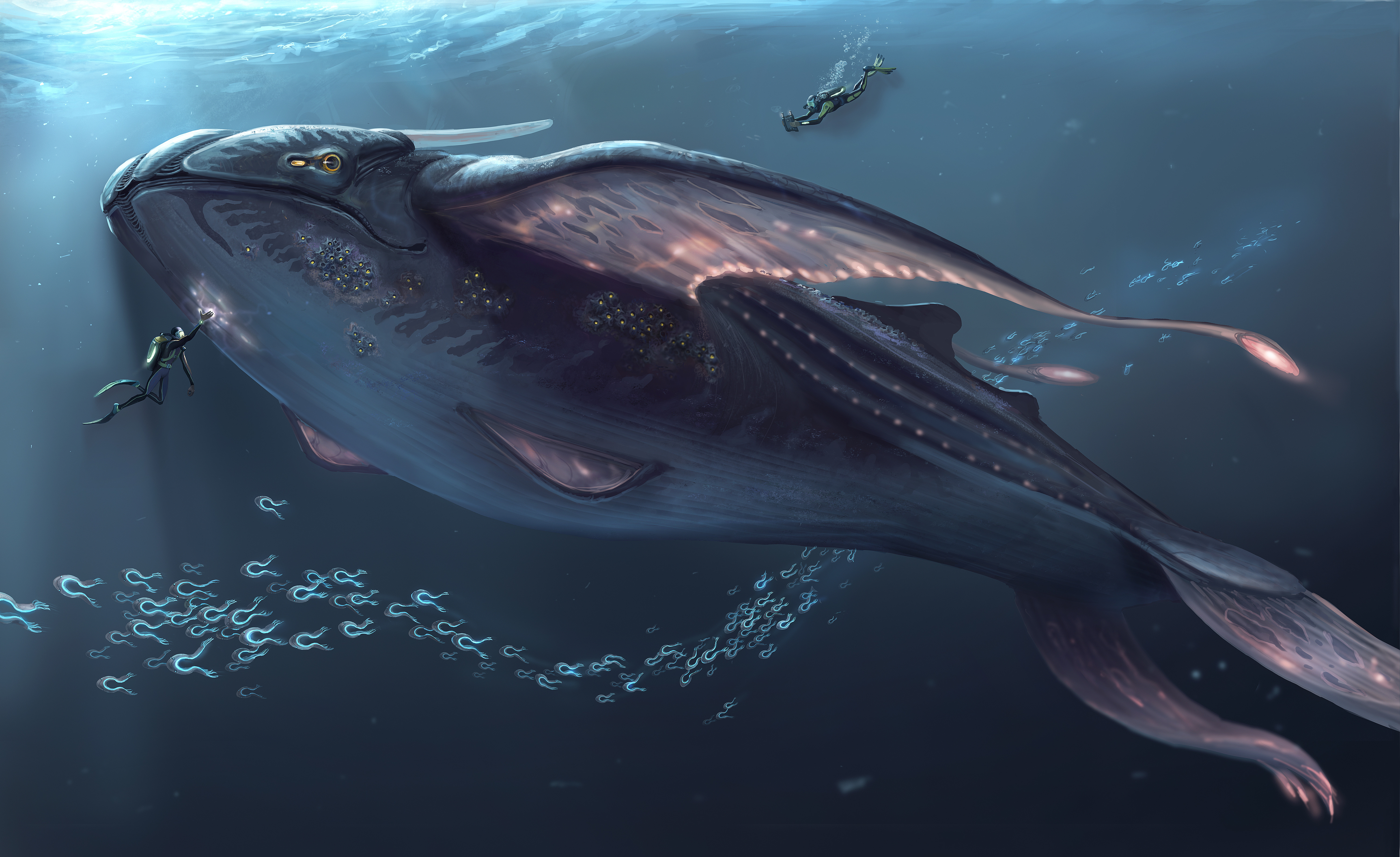 Subnautica concept art backgrounds Album on