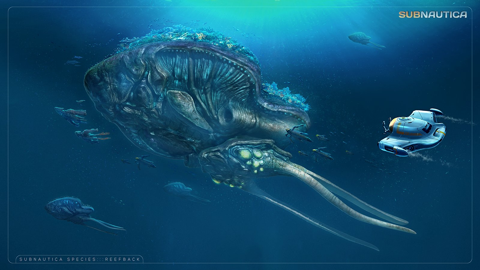 Photo Collection Subnautica Creature