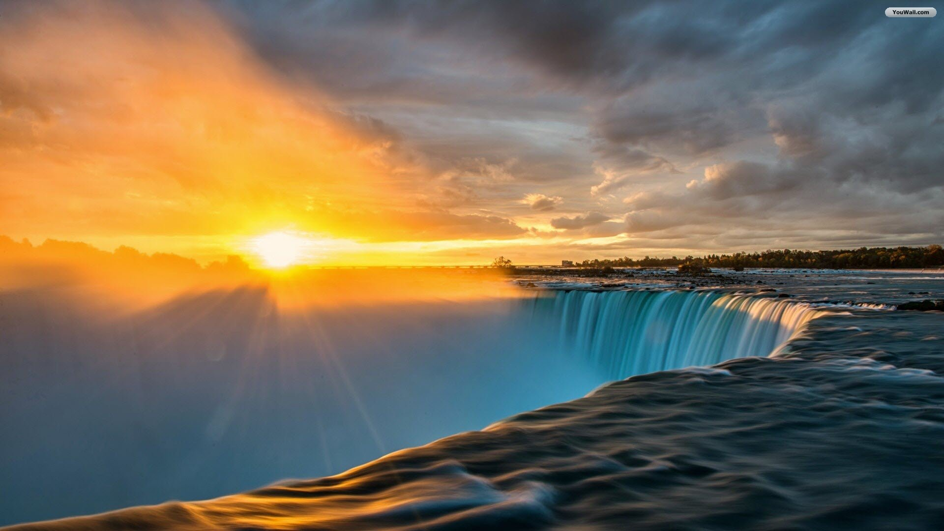Desktop Wallpapers » Natural Backgrounds » Denali Sunrise over