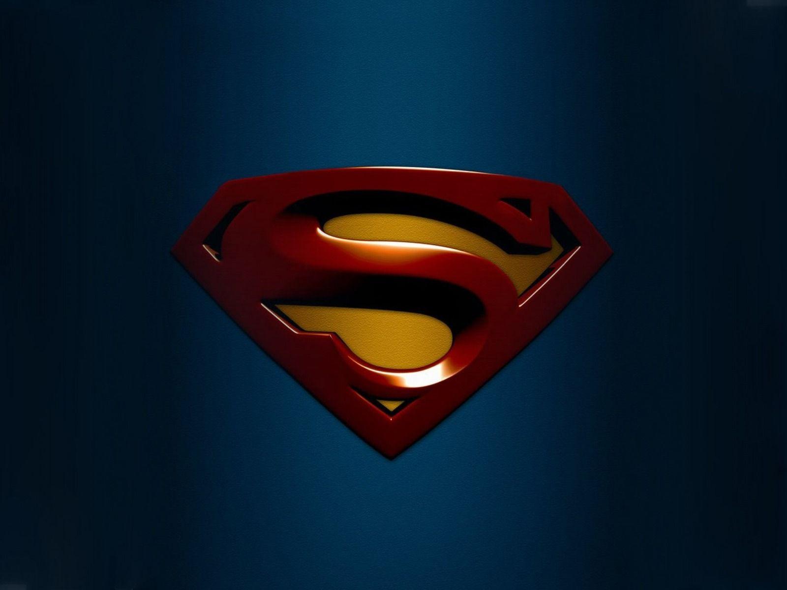 New Superman Logo Wallpapers Wallpaper 1600x1200