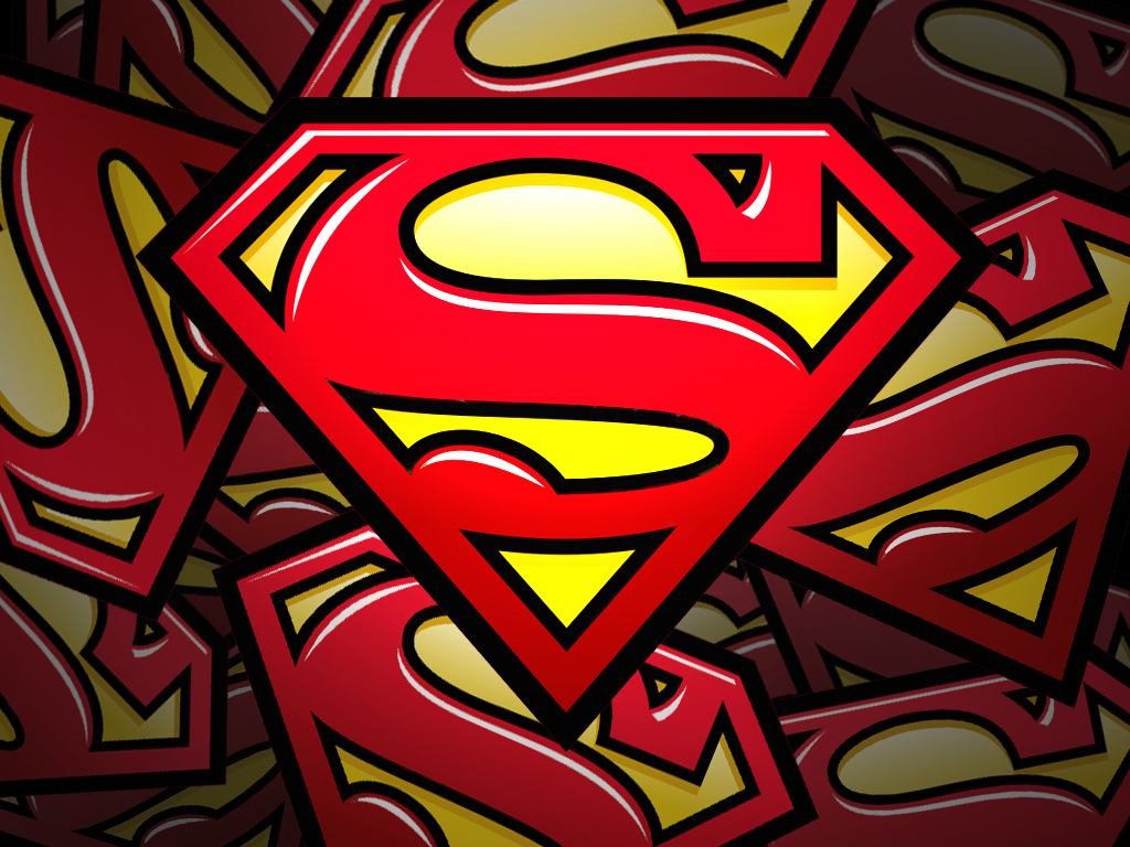 Superman Logo Wallpapers Desktop Wallpaper 1024x768