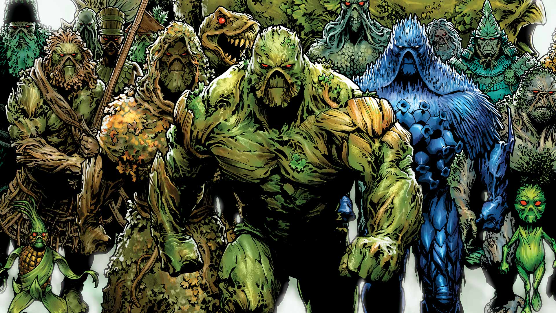 Most viewed Swamp Thing wallpapers K