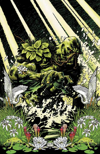 Swamp Thing Character Comic