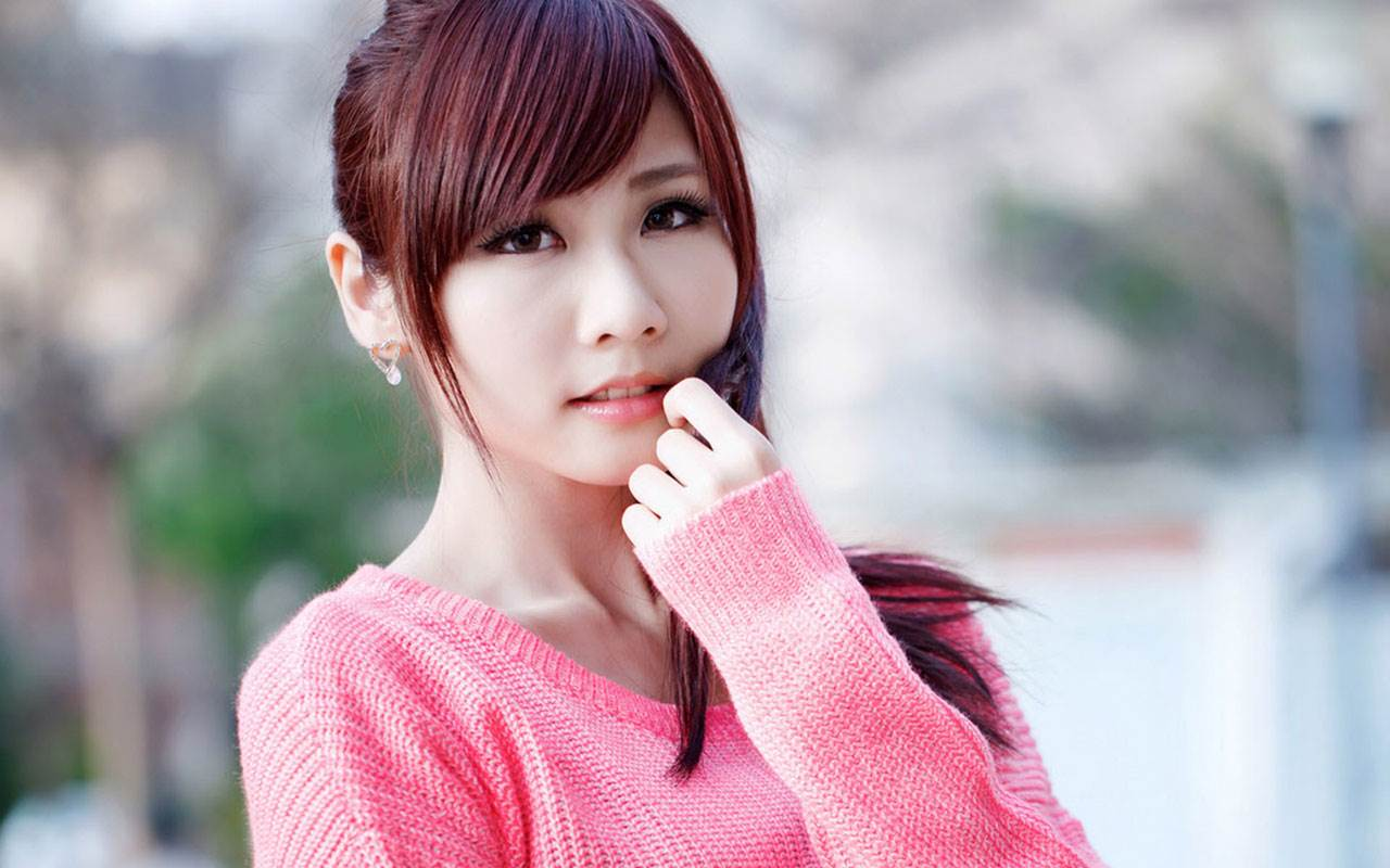 Sweet Charming Girl Hd Photography Wallpaper Chinese Girls 1280x800