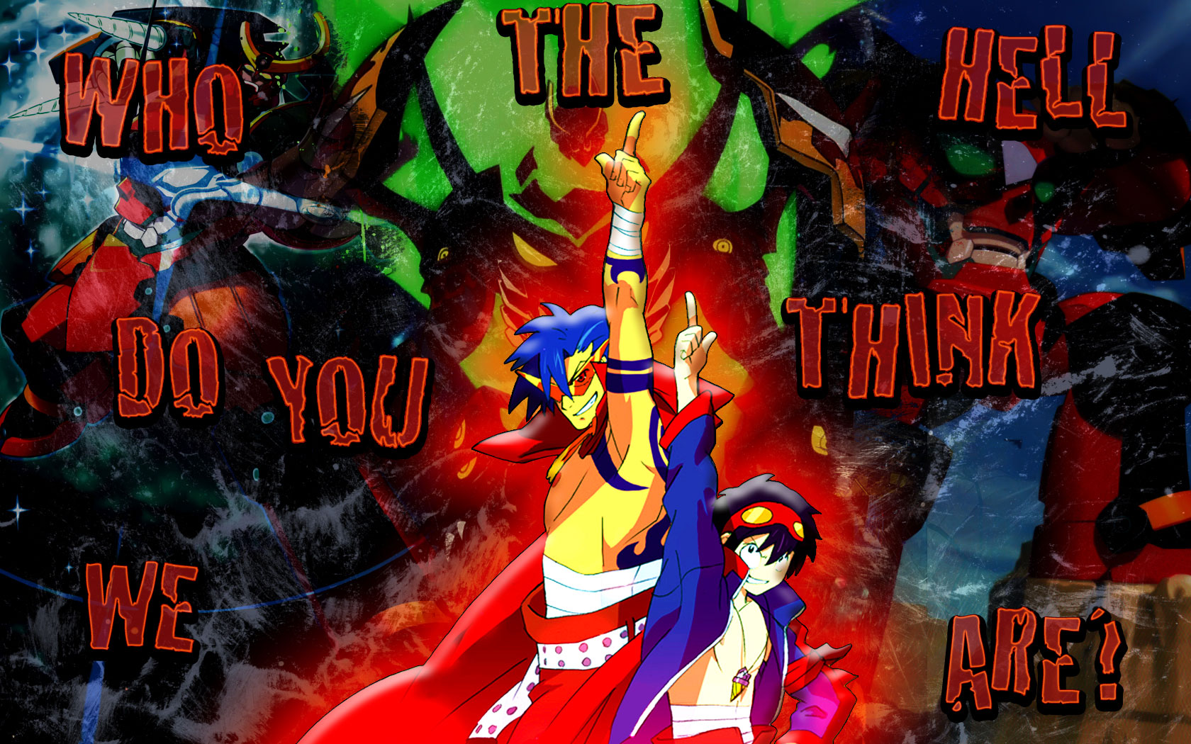 Tengen Toppa Gurren Lagann HD Wallpapers Background Images