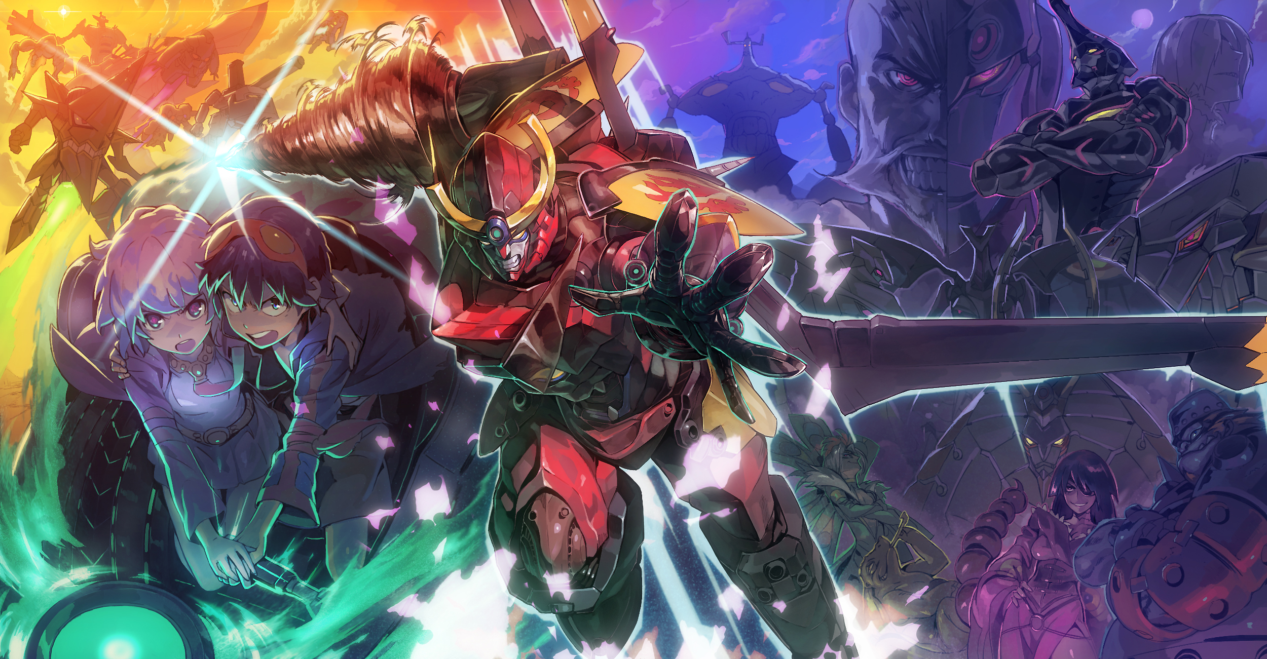 Gurren Lagann Simon Wallpaper by TygerxL on
