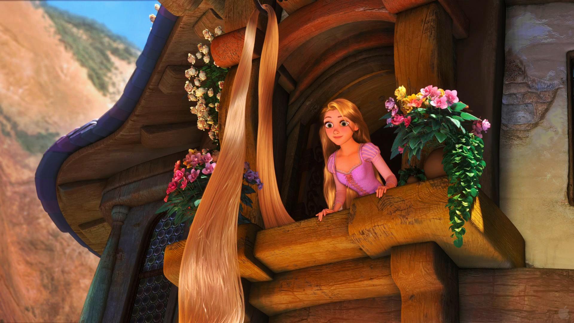 Tangled Wallpaper Rapunzel And Flynn