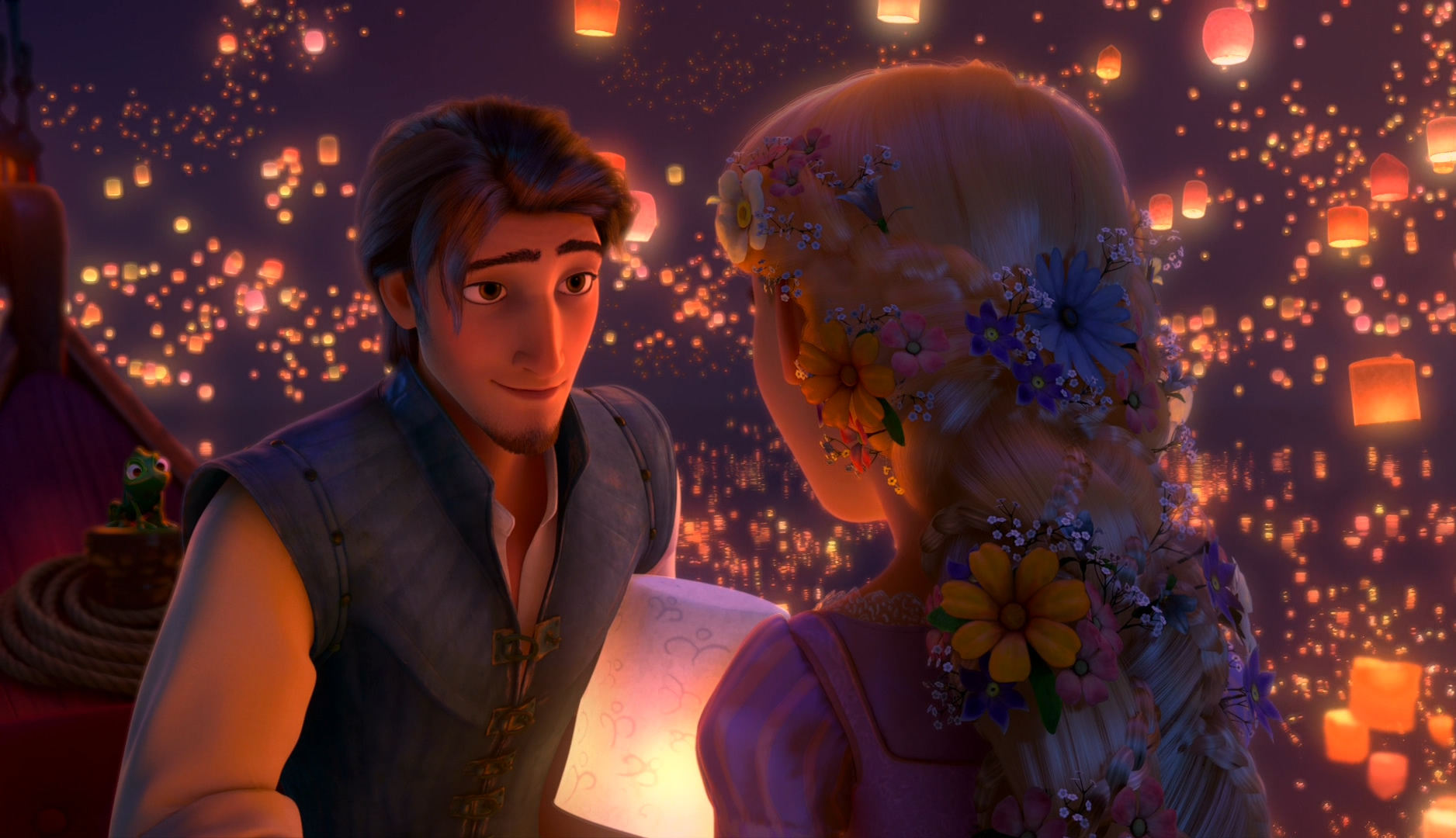 Tangled Rapunzel Cute Wallpaper By HD Wallpapers Daily 1876x1080 For Sky Lanterns 45gtk
