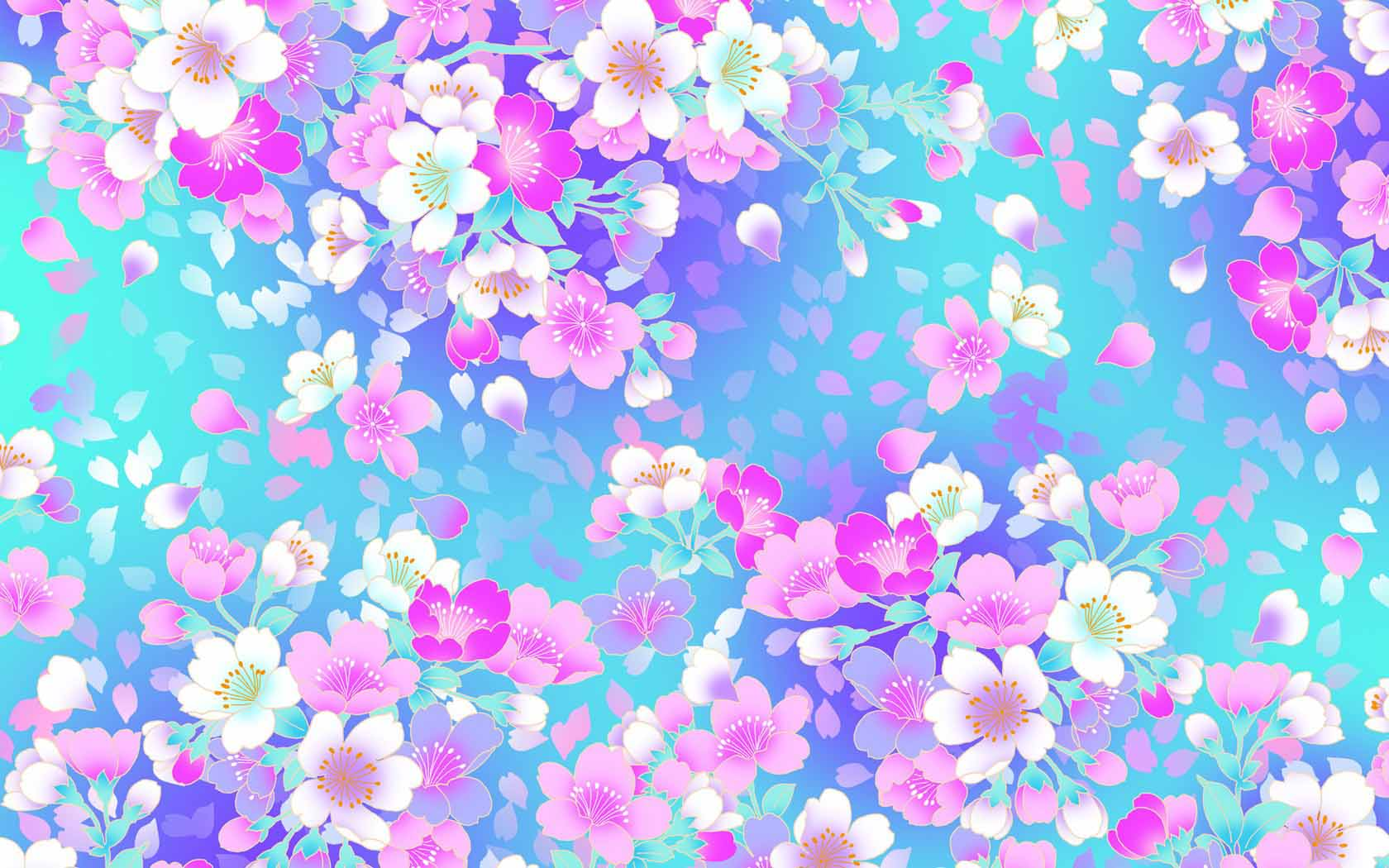 Free vintage cute floral background free vector download